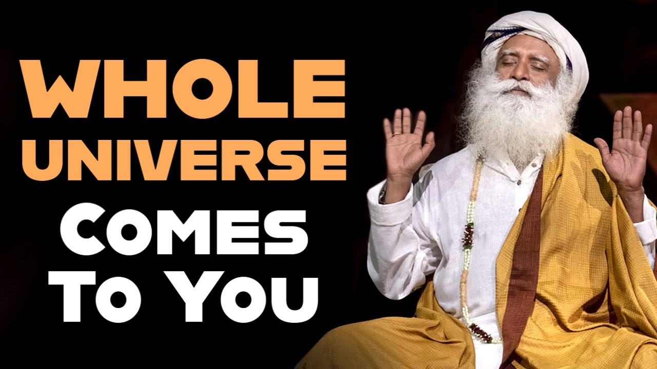 Remove This Within You And Whole Universe Comes To You | Sadhguru Latest | @Sadhguru On