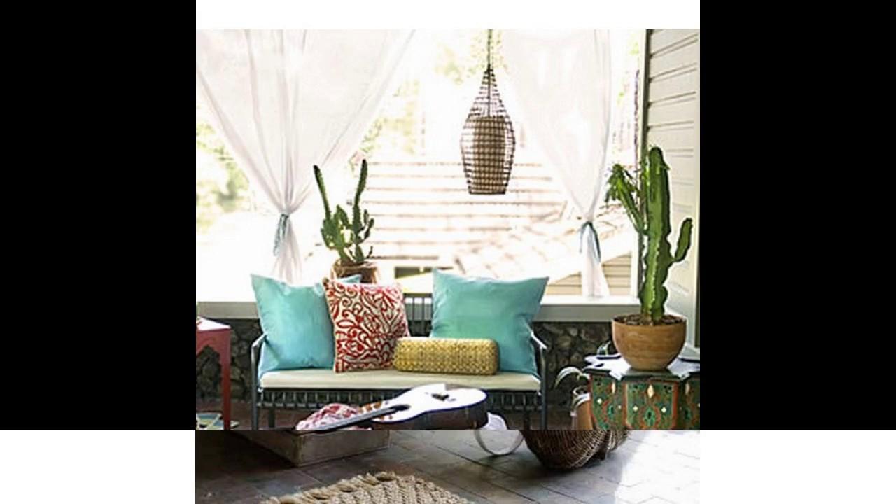 Ideas para porches with ideas para porches diez para una - Ideas para decorar un porche cerrado ...