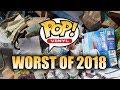 Worst 10 Funko POPS! of 2018