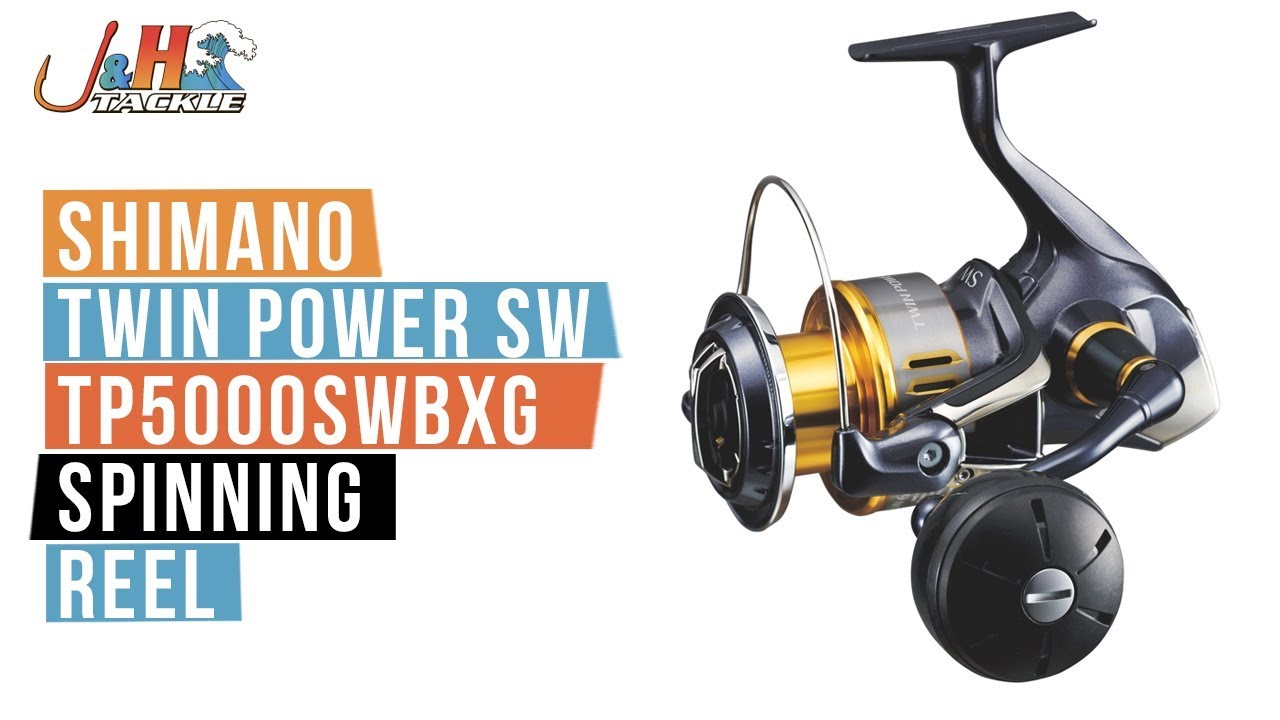 ecde71f955d Shimano Twin Power SW TP5000SWBXG Spinning Reel   J&H Tackle - YouTube