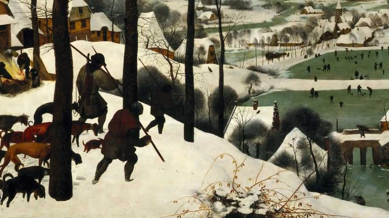 Pieter Bruegel the Elder, Hunters in the Snow (Winter), 1565