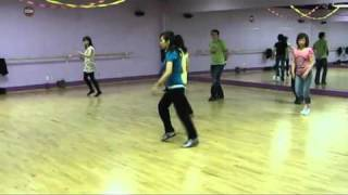 Nu Flow - MIL- Line Dance (Walk through & dance) ~ www.dancepooh.ca