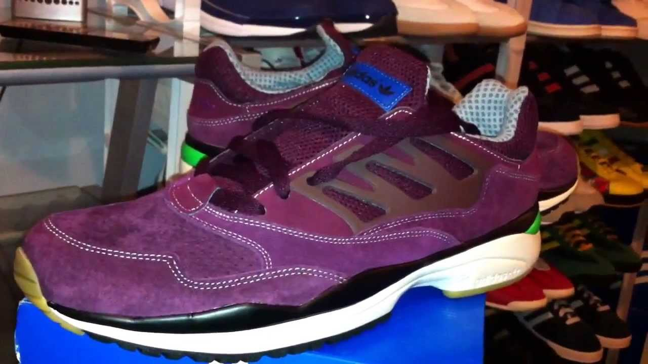 cea758c6baa0a Adidas Torsion Allegra (burgundy) unboxing - YouTube