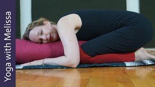 Restorative Yoga without Effort: Episode 363 of Yoga with Melissa