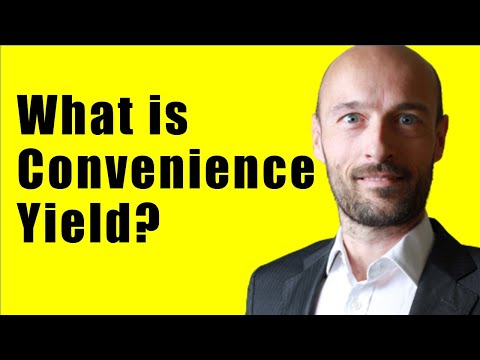 Convenience Yield