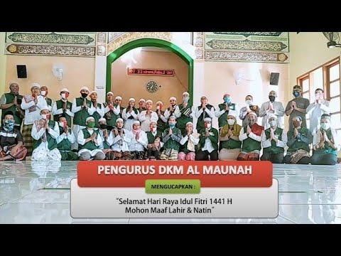 Sholat Idul Fitri 1441H - DKM AL MAUNAH , Perum Asri Pratama