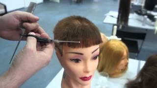 Правильная филировка волос