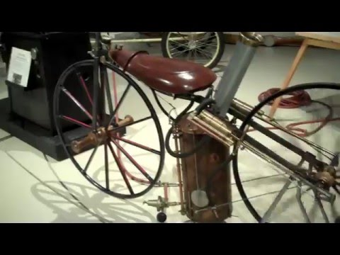 1868 Roper Steam Velocipede