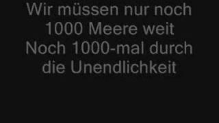 Tokio Hotel - 1000 Meere Lyrics