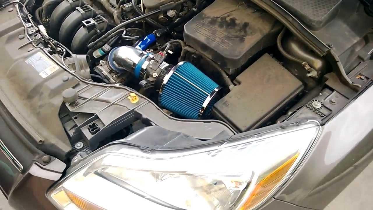 2012 2014 Ford Focus 2 0l 4 Cyl Short Ram Air Intake Kit