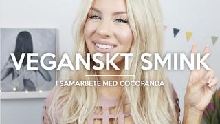 GRIS-SALIV I SMINKET? | VEGANSKT SMINK (i samarbete med Cocopanda)