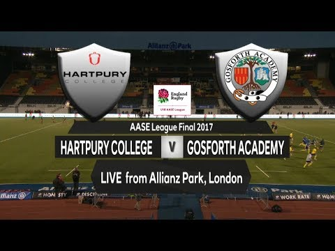 LIVE: Hartpury College v Gosforth Academy