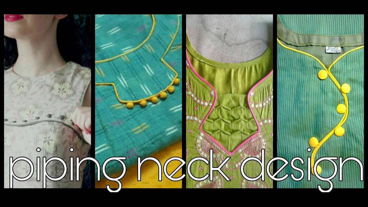 piping neck design latest youtube