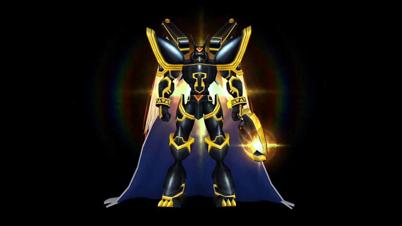 ALPHAMON OURYUKEN PERFECT CLON 15/12/12/12 - Digimon ...