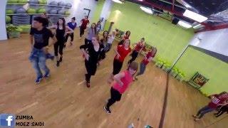 ChocQuibTown - Salsa & Choke | Zumba Fitness choreography by Moez Saidi