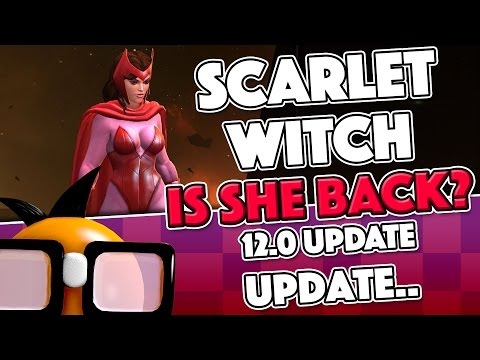 Scarlet Witch: Is She BACK?   11 vs 12.0 vs 12.1 Comparison