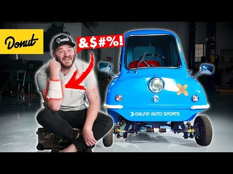 I CRASHED The Smallest Car In The WORLD!   Bumper 2 Bumper
