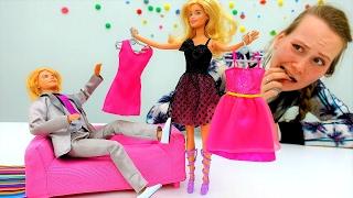 Игры в одевалки. Какое платье выбрать кукле Барби?
