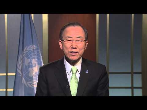 UN SECRETARY- GENERAL VIDEO MESSAGE: WORLD TELECOMMUNICATION AND INFORMATION SOCIETY DAY 2013