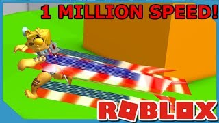 Over 1 Million Speed! - Roblox Soda Drinking Simulator
