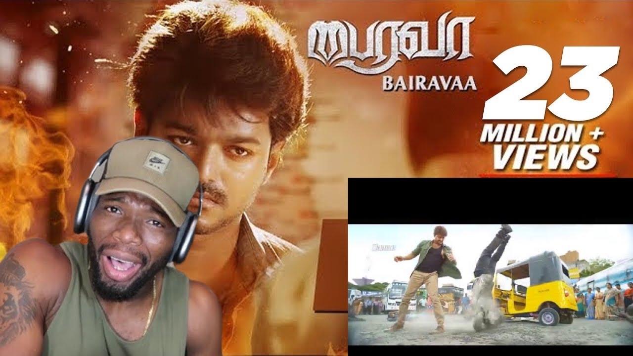 Download Bairavaa Song | Varlaam Varlaam Vaa Video Song | Mass Scene | Vijay, Santhosh Narayanan (REACTION)