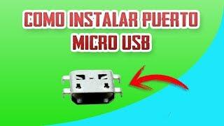 SIMPLE REPARACION TELEFONO NO CARGA... REEMPLAZO PUERTO MICRO USB
