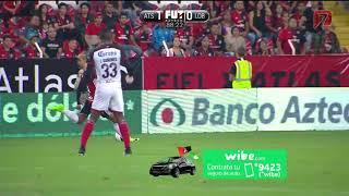 Atlas vs Lobos BUAP 1 1 Jornada 6 Ap 2017 Liga MX RESUMEN COMPLETO