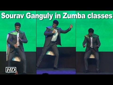 Watch Sourav Ganguly Dance: Zumba classes