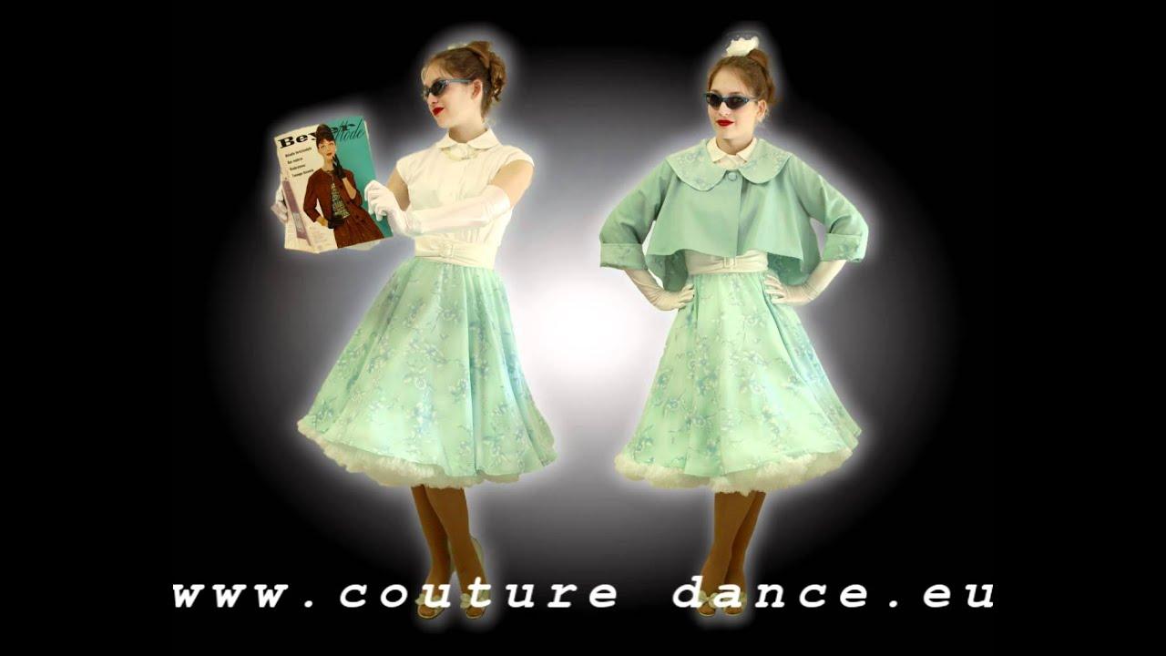 Von 50er Jahre-JACKE bis PETTICOATKLEID / fifties fashion from jacket to petticoatdress