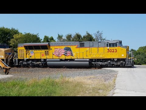 7 Trains in 75 Minutes on the Union Pacific Kansas Sub