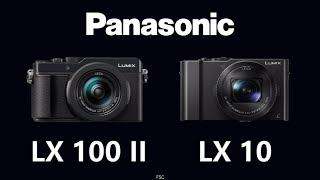 Panasonic Lumix Lx100 Ii Vs Panasonic Lumix Lx10