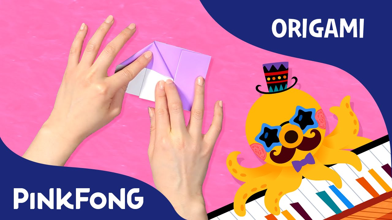 musical instruments word power song with origami