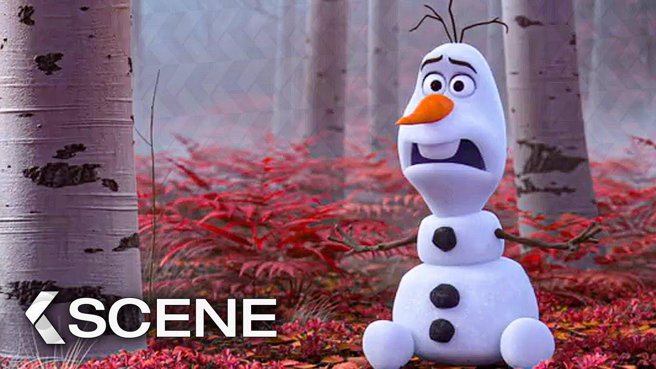 Olaf And Samantha Scene Frozen 2 2019 Youtube