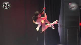 3° place Exotic pole dance contest 2017 amateurs Jolanda Jolie