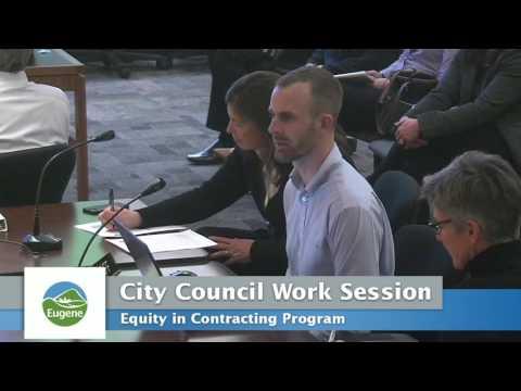 Eugene City Council Work Session: November 28, 2016
