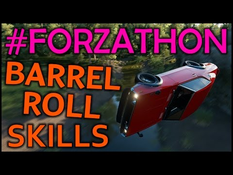#Forzathon - How To Perform Barrel Roll Skills - Spring Festival Sushi Roll Challenge - FH3