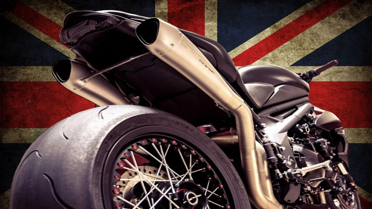 Triumph Speed Triple by Vince Power | Motorcycle Racer Custom Review