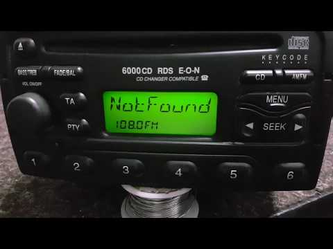 How reset LOCKED13 radios Ford 6000Cd,5000,4500,3000,3500 RDS WIN.