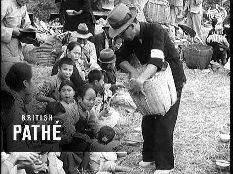 Chinese Refugees Seek Safety In Hong Kong (1939)