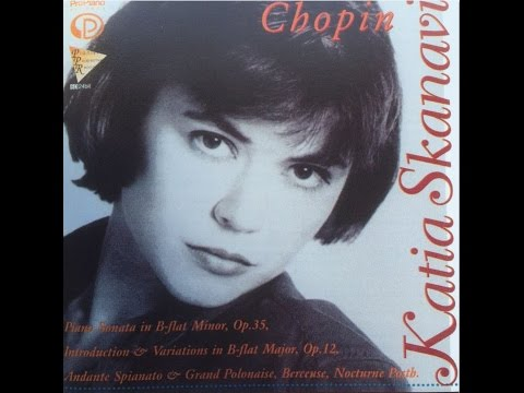 3. Allegro molto - Meno mosso, Frédéric Chopin , Katia Skanavi, Piano