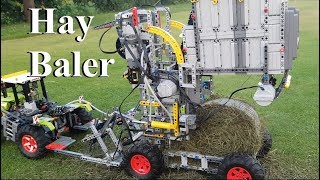 Hay Baler - Lego Technic 42054 Claas Xerion 5000 Trac VC