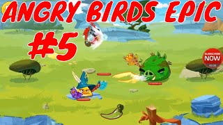 ANGRY BIRDS EPIC | Top Action Games Part 5 by Youngandrunnnerup
