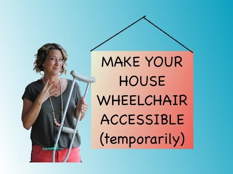 How To Make Your House Wheelchair Accessible Handiced Prepare Home For