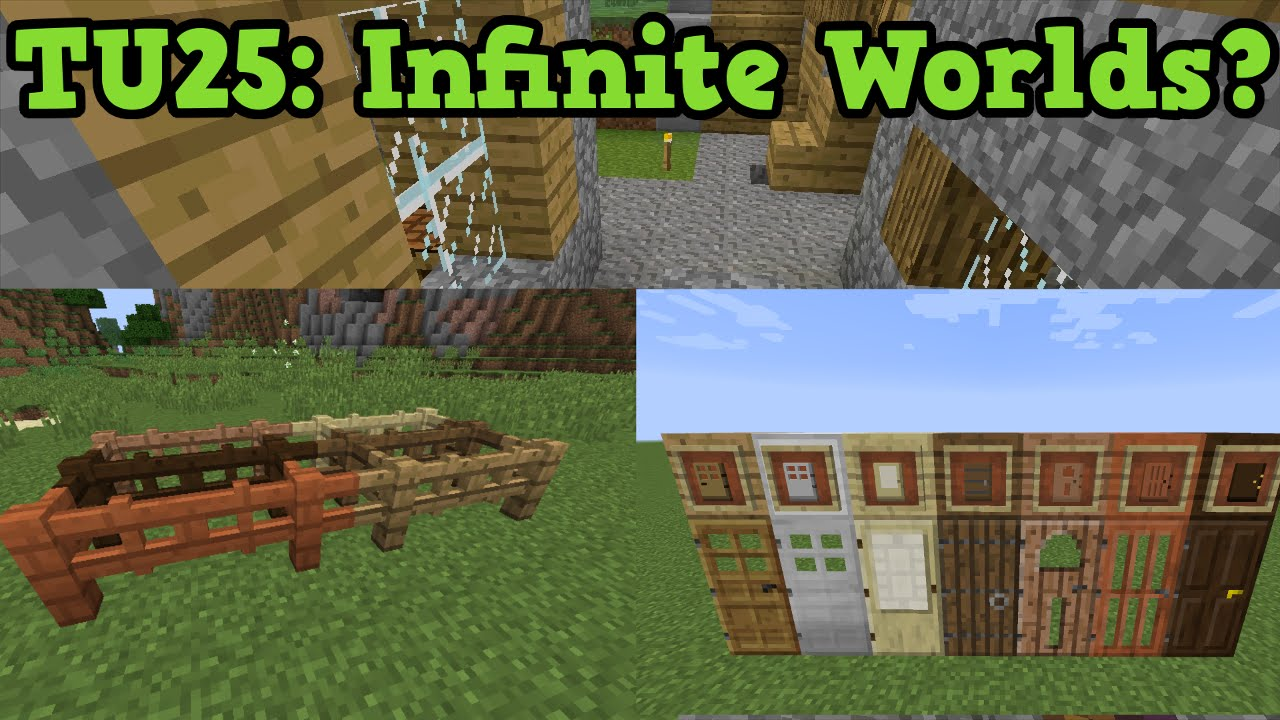 Minecraft Xbox 11 + PS11: TU11 QnA Infinite Worlds & Custom Skins