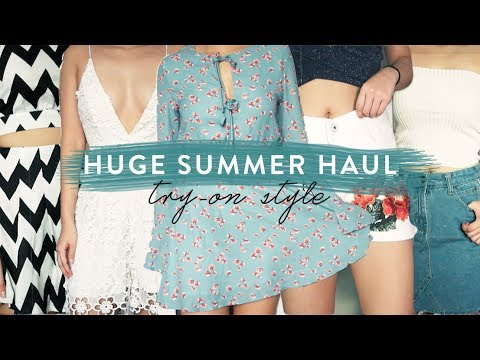 HUGE Affordable Try-On Clothing Haul + FAILS | SUMMER HAUL 3/3 ☀