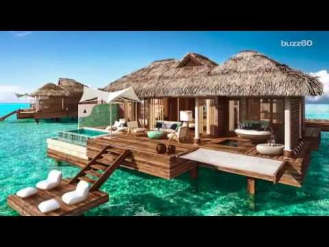 Sorry Bali The Caribbean Is Getting Overwater Bungalows Now Youtube