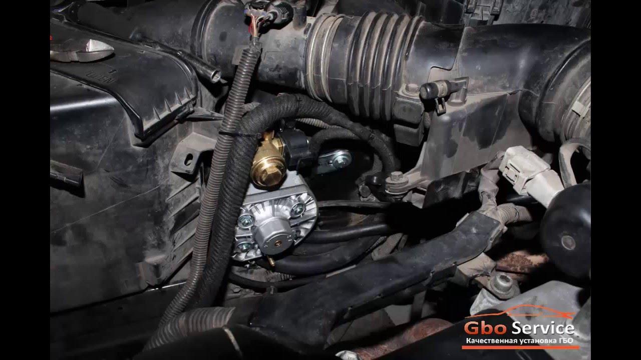 Установка газа на Lexus GS300 (Лексус ГС 300)