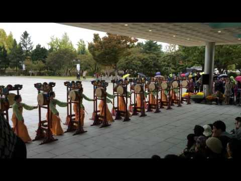 Cultural Show at National Folk Museum of Korea