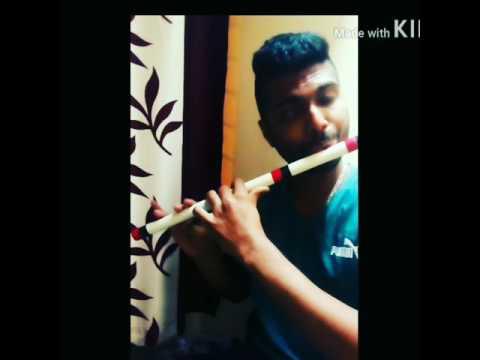 Krishna nee begane baaro on pvc flute