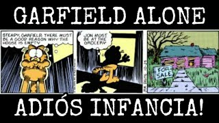 Garfield Alone El Triste Final De Garfield Que Te Romperá El Corazón Obson Creppy Youtube